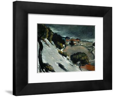 Melting Snow at L'Estaque, 1870-71