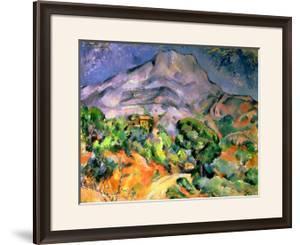Mont Saint Victoire, 1900 by Paul Cézanne