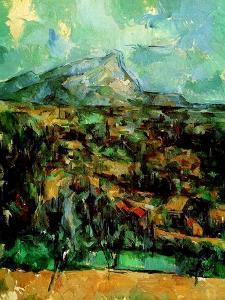 Mont Sainte Victoire, C.1902 by Paul Cézanne