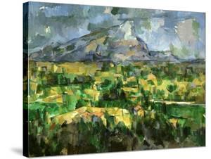 Mont Sainte-Victoire, C.1902 by Paul Cézanne