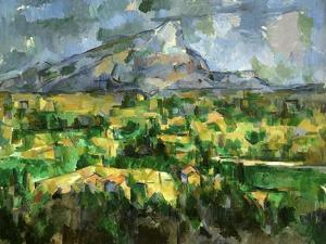 Mont Sainte-Victoire, C.1902 by Paul Cézanne
