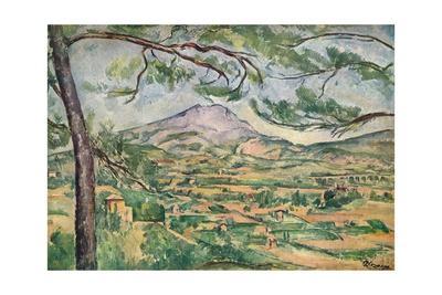 'Mont Sainte-Victoire with Large Pine', c1887