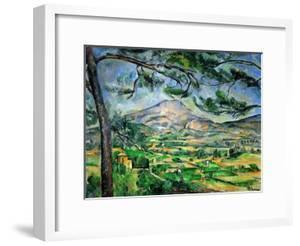 Mont Sainte-Victoire with Large Pine-Tree, circa 1887 by Paul Cézanne