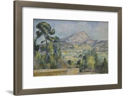 Montagne Sainte-Victoire, C. 1890