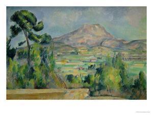 Montagne Sainte-Victoire, circa 1887-90 by Paul Cézanne