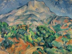 Mount Saint-Victoire by Paul Cézanne
