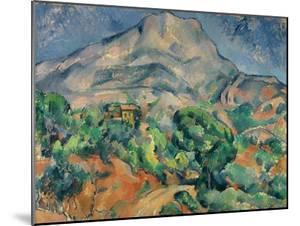 Mount Saint-Victoire by Paul Cézanne