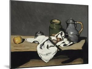 Nature morte à la bouilloire by Paul Cézanne