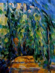 Path in the Forest, 1902-06 by Paul Cézanne