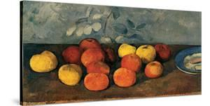 Pommes et Biscuits by Paul Cézanne