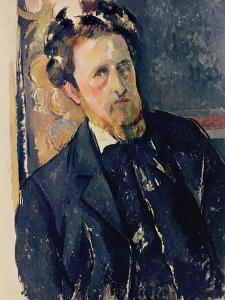 Portrait of Joachim Gasquet (1873-1921) 1896-97 by Paul Cézanne