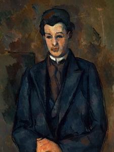 Portrait of the Painter Alfred Hauge, 1899 by Paul Cézanne