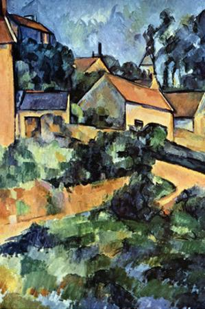 Road Curve in Montgerout by Paul Cézanne