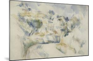 Route tournante pr�d'Aix by Paul Cézanne