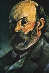 Self-Portrait, 1880 by Paul Cézanne