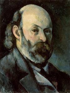 Self Portrait, circa 1879-85 by Paul Cézanne