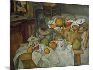 Still Life with a Basket of Fruit, 1888/90 by Paul Cézanne