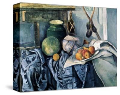 Still Life with a Flagon and Aubergines, 1890-1894