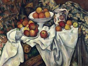 Still Life with Apples and Oranges, about 1895/1900 by Paul Cézanne