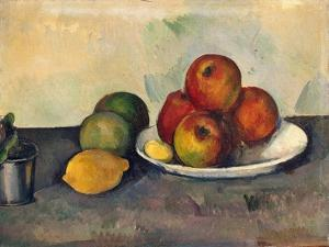 'Still Life with Apples', c1890 by Paul Cezanne