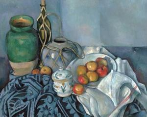 Still Life with Apples by Paul Cézanne