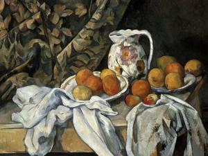 Still Life with Drapery, C1895 by Paul Cézanne