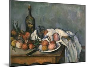 Still-Life with Onions, c.1895 by Paul Cézanne