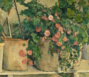 Still Life with Petunias, about 1885 by Paul Cézanne