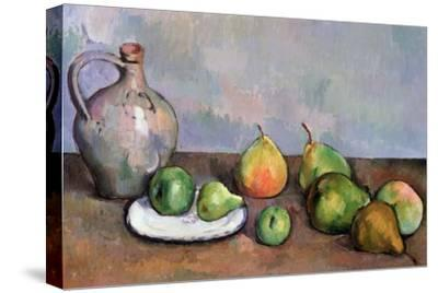 Still Life with Pitcher and Fruit, 1885-87