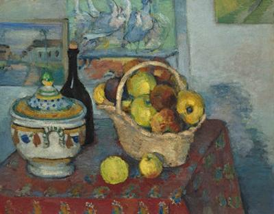 Still Life with Soup Toureen, c.1877 by Paul Cézanne