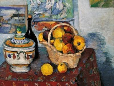 Still Life with Soup Tureen by Paul Cézanne