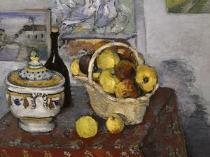 Still-Life with Tureen, c.1877 by Paul Cézanne
