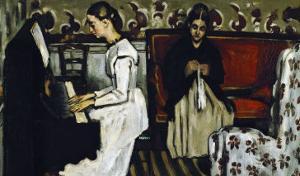 Tannhauser Overture, circa 1869 by Paul Cézanne