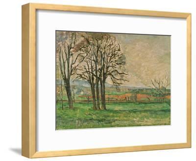 The Bare Trees at Jas De Bouffan, 1885-1886