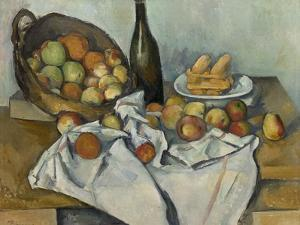 The Basket of Apples, c.1893 by Paul Cezanne