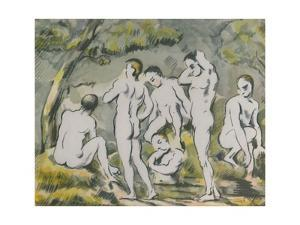 'The Bathers', 1946 by Paul Cezanne