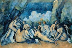 The Bathers by Paul Cézanne