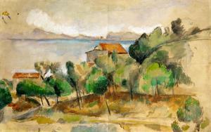 The Bay of L'Estaque, 1878-1882 by Paul Cézanne