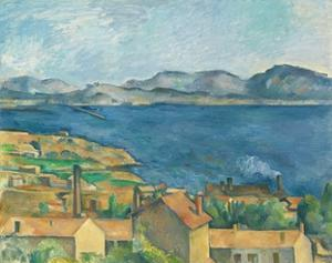 The Bay of Marseilles, Seen from L'Estaque by Paul Cézanne