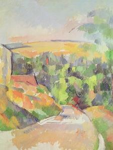 The Bend in the Road, 1900-06 by Paul Cézanne