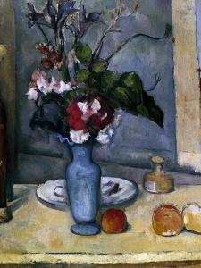 The Blue Vase, 1885-1887 by Paul Cézanne