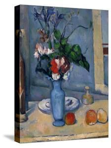 The Blue Vase, 1885-87 by Paul Cézanne