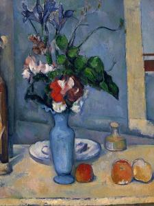 The Blue Vase, 1885-87 by Paul Cézanne