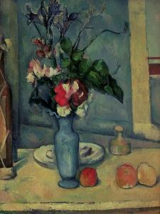 The Blue Vase, 1889-90 by Paul Cézanne