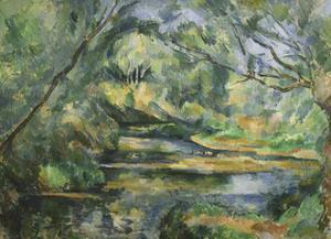 The Brook by Paul Cezanne