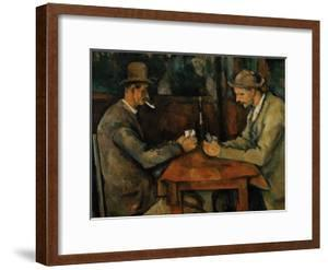 The Card Players, 1890-95 by Paul Cézanne