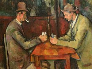 The Card Players, 1893-96 by Paul Cézanne