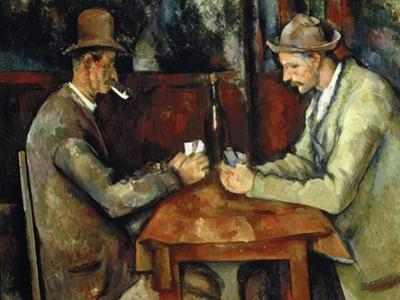 The Card Players, about 1890/95