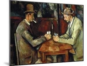 The Card Players, about 1890/95 by Paul Cézanne