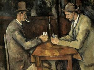 The Card Players (Les Joueurs De Cartes) by Paul Cézanne